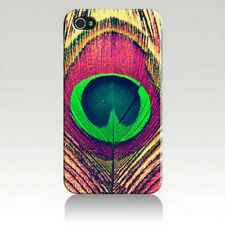 Peacock Feather Art Printed iPhone 4 4s Case for Apple iPhone 4 for iPhone 4s