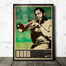Donald Byrd Jazz Art Poster Music Coltrane Roy Ayers