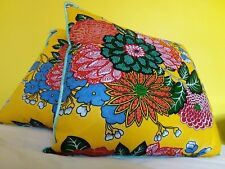 Home Decor Handmade Cotton Cushion Pillow Covers African Print 55x55cm Xmas Gitf