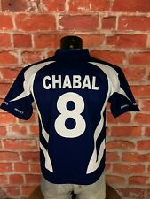 CHABAL Jersey Maillot #8 France FFR Rugby True Vintage 00s Home Tournoi Replica