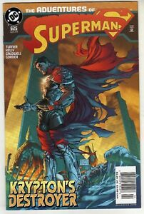 ADVENTURES OF SUPERMAN #625 FIRST PRINT MICHAEL TURNER GODFALL VERY FINE+