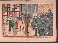 FORMATION LANGUES ETRANGERES POLICE NATIONALE PREFECTURE PARIS ILLUSTRATION 1932