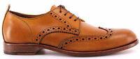 Chaussure Homme MOMA 10707-TG Toscana Giallo Ocra Cuir Vintage Handmade In Italy