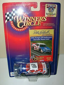 Winners Circle 1998 Dale Earnhardt #3 ~ 1996 Olympics Chevrolet 1:64 Red,Wh, Bl