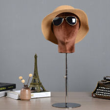 Mannequin Head Cosmetics Model Head for Hats Display Stand Home Coffee,