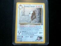 Pokemon Giovanni's Persian 8/132 Holo 1999-2000 Wizards Gym Challenge M/NM