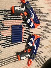 2 x NERF N-STRIKE ELITE FIRESTRIKE Blaster With laser sight inc darts