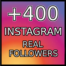 400 REAL FOLLOWERS |BEST QUALITY|