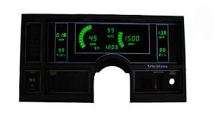 1984-1987 Buick Regal Digital Dash Panel Green LED Gauges Lifetime Warranty