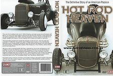 HOT ROD HEAVEN ...DVD (HISTORY OF HOT RODDING) street custom rat