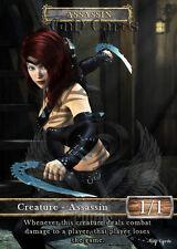 3x Assassin #1 Custom Altered Tokens (for Vraska, the Unseen)