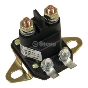 Stens Replacement Starter Solenoid Replaces Husqvarna OEM 523146154