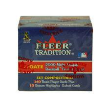 2000 Fleer Tradition Update Baseball Hobby Factory Set (150) Sealed ^ Mantle