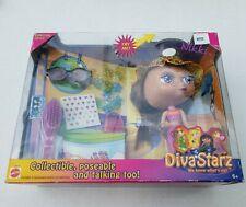 Vintage 2000 Mattel 1st Series Diva Starz Nikki Talking Doll with Light Up Lips