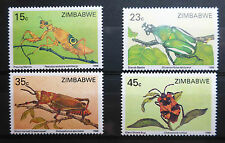 ZIMBABWE 1988 INSECTS SG724-7 U/M NEW LOWER PRICE FP2967