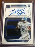 2019 Panini National Treasures Darrell Henderson Rookie Patch Auto # 14/25