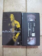 WWE Backlash 2002 VHS HHH Hogan Austin Flair WWF WCW ECW