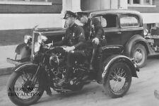 Harley-Davidson 1936 Servi-Car Model G police - photo motorcycle photograph