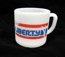 Vintage Fireking Ski Liberty Advertising Mug Cub