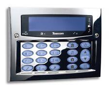 Texecom Premier Flush FMK Polished Chrome Alarm Security Keypad DBD-0121 Grade3