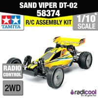58374 TAMIYA SAND VIPER DT-02 TUNED 2WD 1/10th R/C KIT RADIO CONTROL 1/10 BUGGY