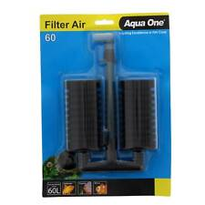 Aquarium Filter Air 60 Sponge Fish Tank 19891 Aqua One Super Filtration Clean