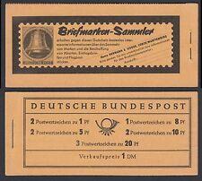 Federale MH 4 y II RLV i ** Heuss e paragrafo 1960 aufklappbug facilmente etichettate