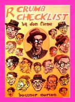 R. CRUMB CHECKLIST BOOK, 1981, DONALD M. FIENE, OUT OF PRINT - PAPERBACK BOOK, B