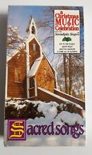 A Christmas Music Celebration with the Serendipity Singers: SACRED SONGS VHS New