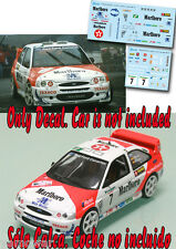 Decal 1:43 Gregorio Picar - FORD ESCORT WRC - Rally El Corte Ingles 1998