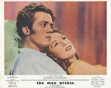 The Man Within original lobby card Michael Redgrave Jeant Kent 1947