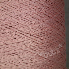 SOFT PURE MERCERISED COTTON BIG 500g CONE 3 4 PLY KNIT CROCHET WEAVE EMBROIDERY