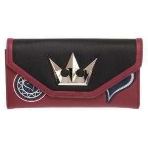 Brand New Disney Kingdom Hearts Sora Red, Blue & Black Wallet from Gamestop