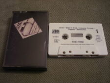 RARE OOP The Firm CASSETTE TAPE 1985 Radioactive JIMMY PAGE Led Zeppelin QUEEN !