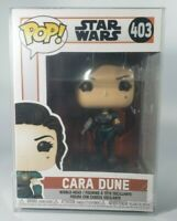 Funko Star Wars The Mandalorian Cara Dune #403 Discontinued Protector MINT Pop!
