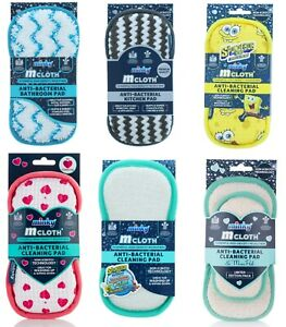 Minky M Cloth Anti Bacterial Bathroom Kitchen Multi Purpose Cleaning Pad Sponge