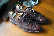 Crockett & Jones 'Exmoor' Size 8.5E Full Brogue Derby - Dainite Sole - 341 Last