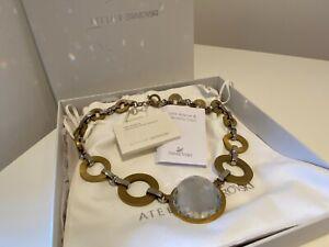 Swarovski Necklace - Genuine Atelier by Holly Fulton Swarovski Necklace