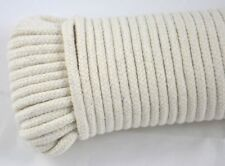 30 Meter Wäscheleine Baumwolle Seil Strick Leine geflochten Natur Naturfaser
