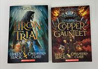 Magisterium- The Iron Trial, The Copper Gauntlet.   Books 1 & 2-Black & Clare