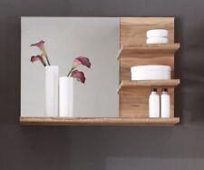 Badspiegel Spiegel Nussbaum Paneel Regal Cancun Wandspiegel Bad Badezimmer  Möbel