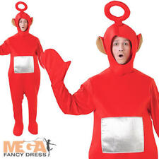 Po Red Teletubby Adult BBC Licensed Fancy Dress Teletubbies Mens Ladies Costume