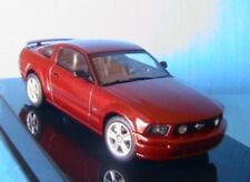 FORD MUSTANG GT 2005 RED FIRE AUTO SHOW VERSION 2004 1/43 AUTOART 52762 ROUGE