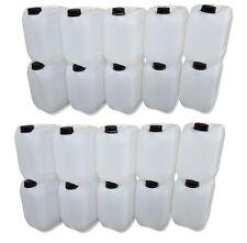 20 x 10 L Kanister natur Camping Plastekanister Wasserkanister Trinkwasser DIN51
