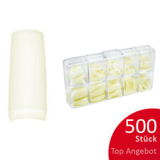 500St. Tipbox GAMMA Tipkasten Nageltips künstliche Nägel natur C-Kurve NAILS