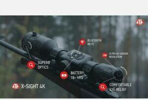 ATN X-Sight 4K 3-14x Pro Day and Night Rifle Scope