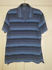 GAP Blue T-shirt rayé avec Raw Hem Taille XL