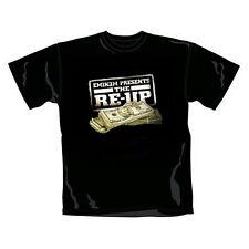 Rare Bravado Offi. EMINEM Present the RE-UP Hip Hop Rap Dollar Money T-Shirt M