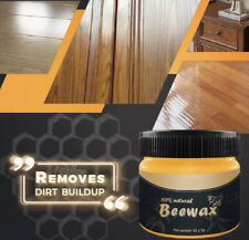 Wood Seasoning Beewax Complete Furniture Polishing Solution Care 100% Natural