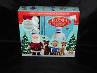 Rudolph the Red Nosed Reindeer Crochet Kit NEW With Book Yarn Santa Projects